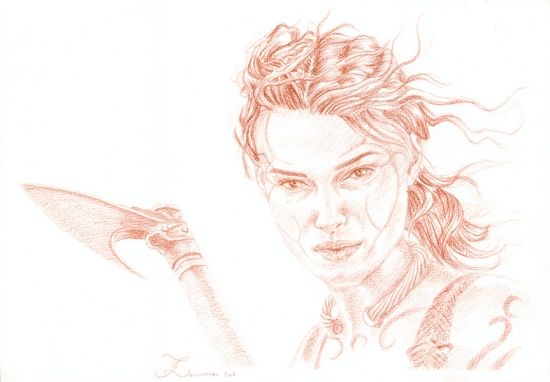 Keira Knightley par Olivier_Lerousseau